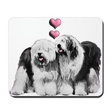 Ole English Sheepdog Pair Mousepad