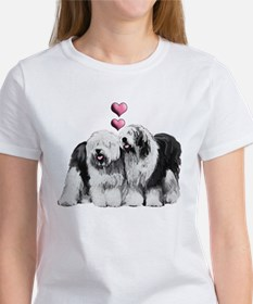 Ole English Sheepdog Pair Tee