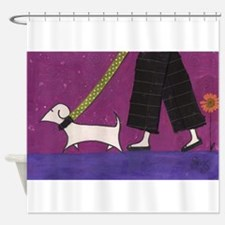 Walkies! Shower Curtain