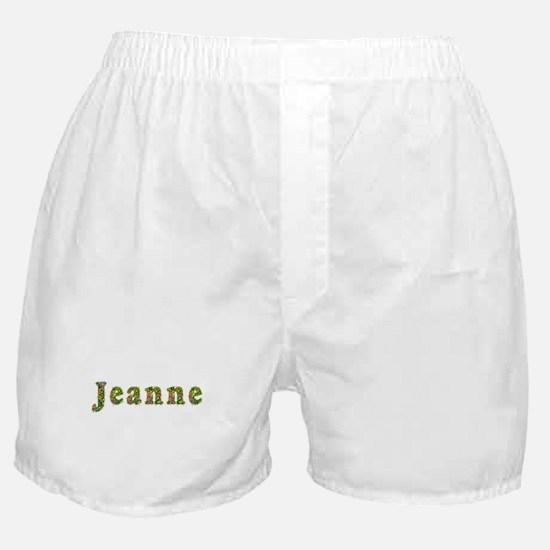 Jeanne Floral Boxer Shorts