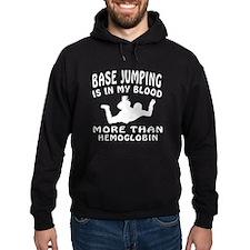 Base Jumping Designs Hoodie