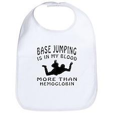 Base Jumping Designs Bib