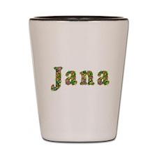 Jana Floral Shot Glass