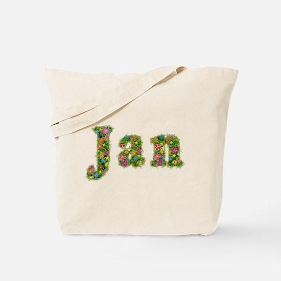 Jan Floral Tote Bag