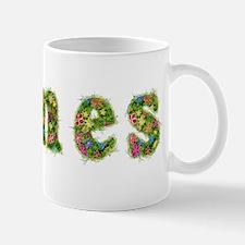 James Floral Mug