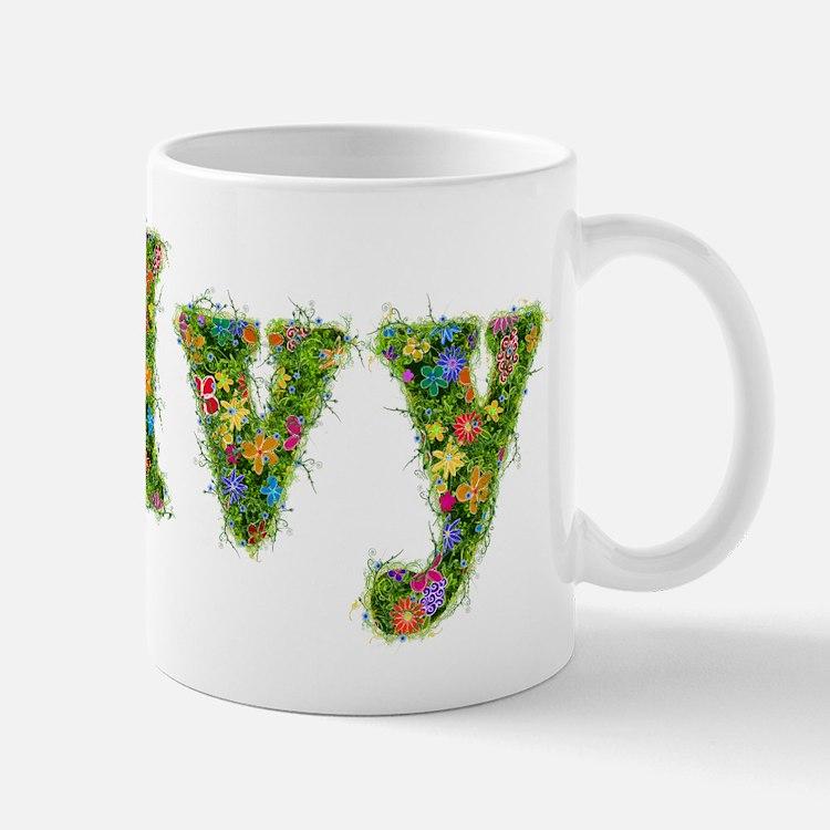 Ivy Floral Mug