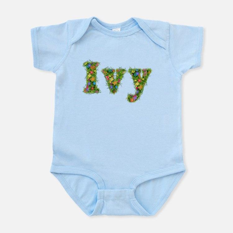 Ivy Floral Infant Bodysuit