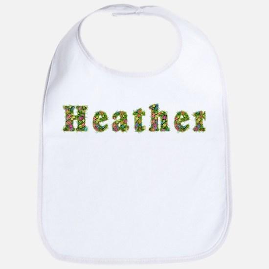Heather Floral Bib