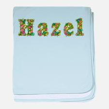 Hazel Floral baby blanket