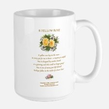 A Yellow Rose2 Large Mug Right