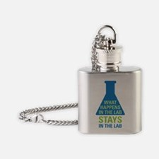In The Lab Flask Necklace