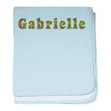 Gabrielle Floral baby blanket