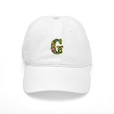 G Floral Baseball Cap