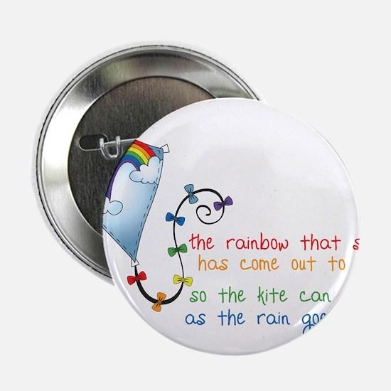 "Rainbow Shines 2.25"" Button"
