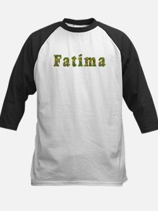 Fatima Floral Kids Baseball Jersey