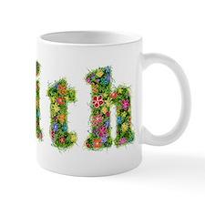Faith Floral Mug