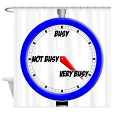 VeryBusy Meter copy.png Shower Curtain