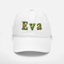 Eva Floral Baseball Baseball Cap
