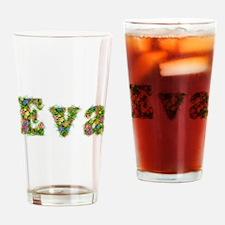 Eva Floral Drinking Glass