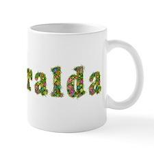 Esmeralda Floral Small Mug