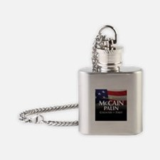 America First Flask Necklace