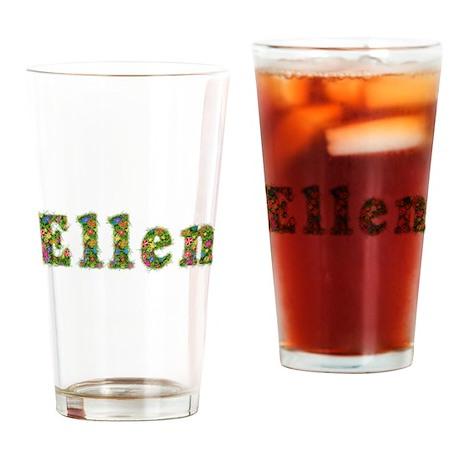 Ellen Floral Drinking Glass