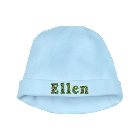 Ellen Floral baby hat