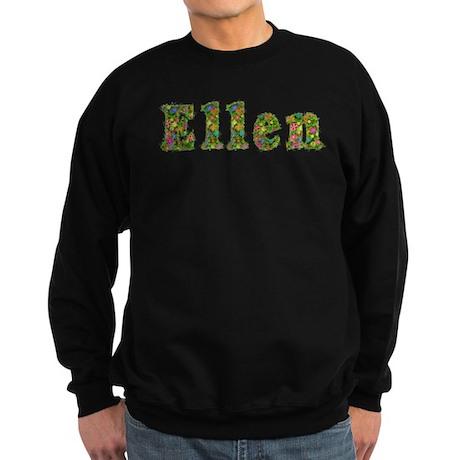 Ellen Floral Sweatshirt (dark)