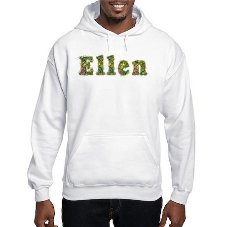 Ellen Floral Hooded Sweatshirt