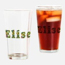Elise Floral Drinking Glass