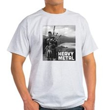 Heavy Metal Bagpipes T-Shirt