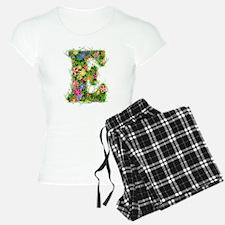 E Floral Pajamas