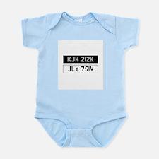 Gene Hunt's cars Infant Bodysuit