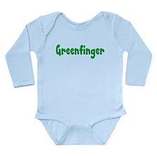 Greenfinger Long Sleeve Infant Bodysuit