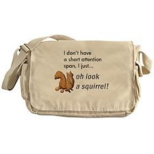 Oh Look A Squirrel Messenger Bag