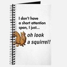 Oh Look A Squirrel Journal