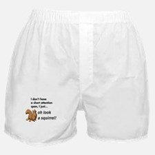 Oh Look A Squirrel Boxer Shorts
