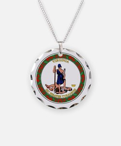 Virginia State Seal Necklace