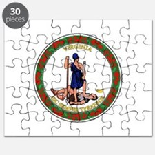 Virginia State Seal Puzzle
