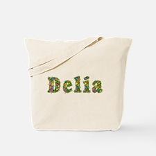 Delia Floral Tote Bag