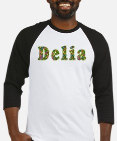 Delia Floral Baseball Jersey