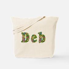 Deb Floral Tote Bag