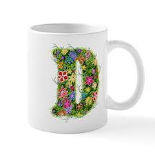 D Floral Mug