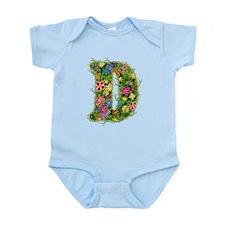 D Floral Infant Bodysuit