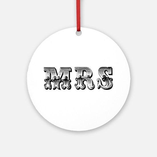 Mrs. Ornament (Round)
