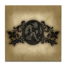 Weeping Cherub Tile Coaster