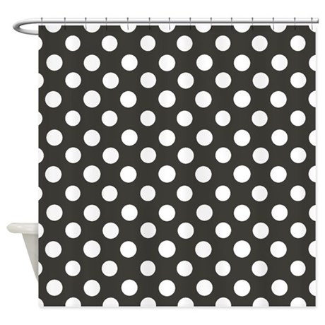 Pretty Dots Shower Curtain