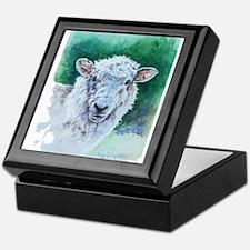 Sheep Merino New Zealand Keepsake Box