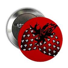 """Gothic Strawberries 2.25"""" Button"""