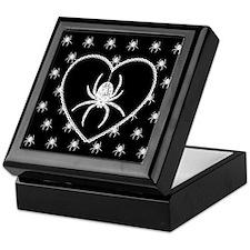 Gothic Spider Heart Keepsake Box